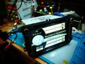 Ремонт автомагнитолы 2 дин в Москве перепрошивка андройд