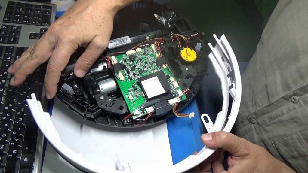 Ремонт пылесосов роботов