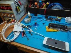 ремонт айфона, диагностика питания