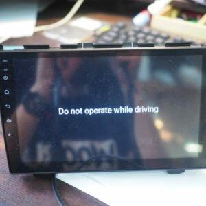Ошибка в автомагнитоле. Do not operate while driving