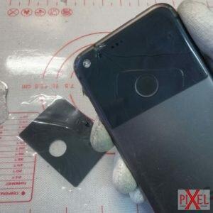 Замена заднего стекла на Google pixel разбит в районе камеры